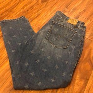"""Lucky jeans Lolita Capri, 27"""" inseam, size 14"""